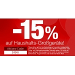neckermann.at: -15 % Rabatt auf Haushalts-Großgeräte