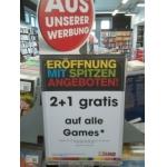 Libro (St. Pölten Bahnhof): 2+1 auf Games, DVD's, Blu Ray's