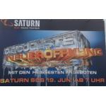 Saturn SCS Neueröffnung am 19.6.2013 ab 7 Uhr