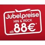Wieder da – Jubelpreise bei AirBerlin (zB Mailand ab 78 Euro Retour)