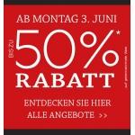 Kleiderbauer: -50% auf ausgesuchte Artikel + Totalabverkauf im Donauzentrum!
