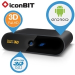 iconBIT XDS73D Advanced 3D HD Media-Player und SMART TV / Internet-Box für 95,90€ bei iBOOD