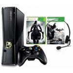 XBOX 360 250GB Konsole Slim + Batman Arkham City + Darksiders 2 inkl. Versand um 149 Euro + 20 Euro Rabatt auf ausgewählte Spiele