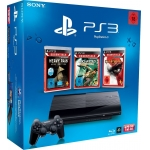 [Amazon Blitzangebot] PlayStation 3 Super Slim 12GB + 3 Games für nur 179 Euro inkl. Versand