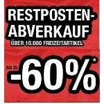 Hervis -60% plus zusätzlich -10% ab 80 und -20% ab 100 Euro Bestellwert