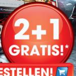 2+1 gratis auf ALLE Games im LIBRO Online Shop