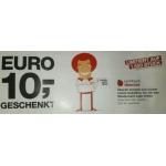 110 € Cash4Web Guthaben um 100 € bei der Post von 24.-26.06.