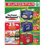 Neue Sortimentsaktionen (z.B.: -25% auf das gesamte Tiefkühl-Sortiment inkl. Speiseeis bei Eurospar)