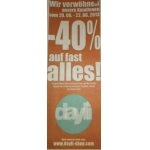 -40 % bei Dayli auf fast alles von 20.-22.06.