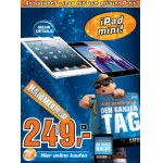 Saturn: Das verrückteste Prospekt Österreichs – z.B.: iPad Mini um 249 Euro / iPhone 4 um 299 Euro