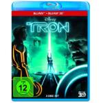 TRON: Legacy 3D Blu-ray (+ 2D Blu-ray) um 14,97 Euro