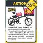 Forstinger: Dinotti E-Bike New York 20″ statt 1099,- um 499,- (55% Ersparnis)