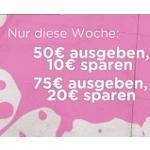 Crocs: 50€ ausgeben und 10€ sparen oder 75€ ausgeben und 20€ sparen