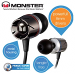 Monster Turbine High Performance In-Ear Speakers um 59,95 Euro (+ 5,95 Euro Versand) bei iBOOD.at