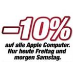 DiTech: -10% auf alle Apple Computer (auch nicht lagernde Ware!) bis morgen (29.6.2013)