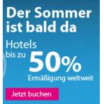 nur noch heute: 15% Rabatt auf Hotelbuchungen bei eBookers
