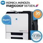 Konica Minolta Magicolor 5670EN High Perfomance Laser Drucker um 358,90€ bei iBOOD