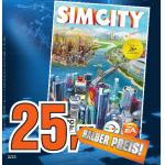 Sim City 5 um €25 bei Saturn