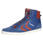 Hummel High-Sneakers in blau inkl. Versand um 28,95 Euro bei Zalando.at