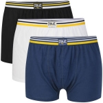 Everlast Men's 3-Pack Boxers – Navy/Black/White um rund 8,40€ bei TheHut.com