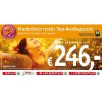 Spar Gutscheinheft: 30 Top-Ausflugsziele in Niederösterreich zum Sensationspreis