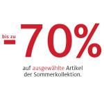 C&A: bis zu -70% auf ausgewählte Artikel im Onlineshop