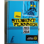 Gratis FM4 Student Planner 2013/2014 inkl. Versand im ORF.at Shop