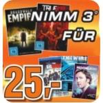 Saturn Wien/NÖ: 3 TV Staffeln für 25 Euro