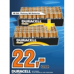 Saturn Wien, NÖ: 80 Stück Duracell Plus Power AA Batterien um 22 Euro
