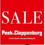 Peek & Cloppenburg: Abverkauf mit bis zu ca -25%