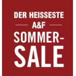 Abercrombie & Fitch Sommersale mit bis zu 40% und kostenlosem Versand ab 100 Euro