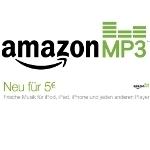 Amazon: MP3 Neuerscheinungen für 5 Euro