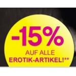 BIPA: -15% auf alle Erotik Artikel