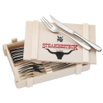 12-teiliges WMF Steakbesteck um 23,99 € statt 31,37 €