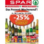 Neue Sortimentsaktionen (z.B.: -25% auf Sekt, Prosecco, Champagner und Knabberartikel bei Spar)