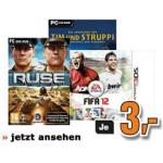 Saturn Tagesdeal: Diverse Games inkl. Versand um 3 Euro