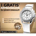 Beate-uhse: kostenlose Armbanduhr mit Swarovski Elements Kristallen zu jeder Bestellung (ohne Mindestbestellwert)