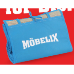 Möbelix: Strandmatte geschenkt zu jeder Bestellung bis 9. August