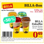 -50% Billa Eiskaffee Bon @ Billa