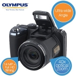 "Olympus ""Bridge""-Kamera SP-820 UZ in schwarz um 175,90 Euro bei iBOOD"