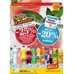 -25 % auf Mineral, Limo, Fruchtsäfte und Energydrinks bei BILLA am 16. u. 17. August (für Vorteilsclubmitglieder)