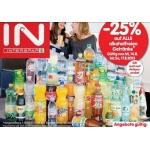 -25 % auf auf alle alkoholfreien Getränke bei Interspar von 14.8. bis 17.8.