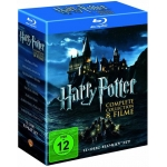 Harry Potter Blu-ray Komplettbox inkl. Versand um 31,23 Euro