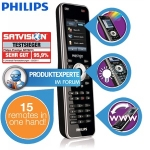 Philips Prestigo 15-in-1 Universalfernbedienung mit LCD Touchscreen um 45,90€