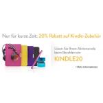 20% Rabatt auf Kindle-Zubehör (nur ein Artikel) bei Amazon.de