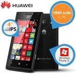 Huawei Ascend W1 WP Smartphone um 135,90€ bei iBOOD