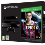 XBOX One Day One + Fifa 14 + 3 Monte Xbox Live Gold um 484 Euro bei Müller