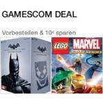 Amazon Gamescom Deal – 10 Euro Rabatt auf Batman: Arkham Origins – Collector's Edition und Lego Marvel: Super Heroes – Special Edition