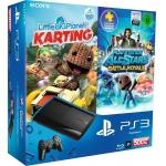 Playstation 3 Super Slim 500GB + Little Big Planet Karting + Playstation All-Stars Battle Royale Bundle für nur 222 Euro bei Amazon