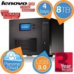 Lenovo IX4-300d NAS Server mit 4 x 2TB HDDs um 558,90€ bei iBOOD